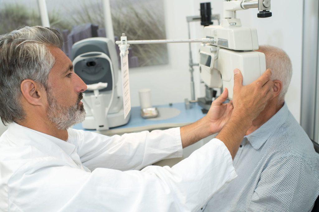 synskirurgi grå stær