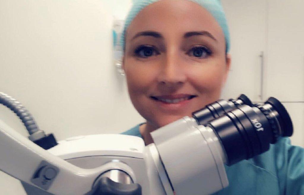 svanhild hansen lege mikroskop